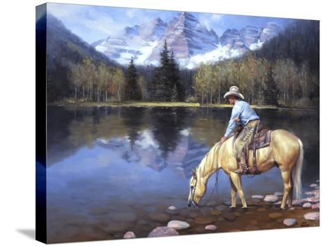 Colorado Cowboy-Jack Sorenson-Stretched Canvas Print
