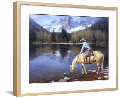 Colorado Cowboy-Jack Sorenson-Framed Art Print