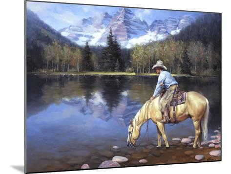 Colorado Cowboy-Jack Sorenson-Mounted Art Print