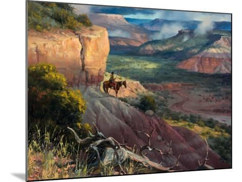 Camp Along the Timbercreek-Jack Sorenson-Mounted Art Print
