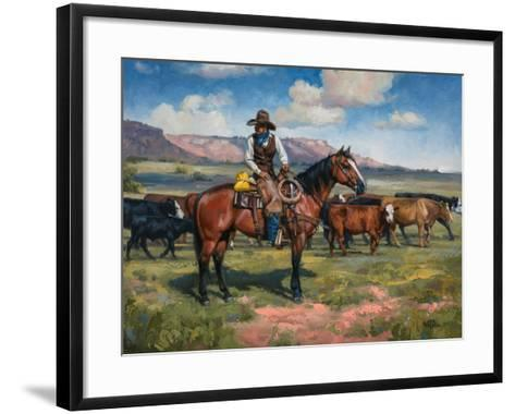 A Good Hand-Jack Sorenson-Framed Art Print