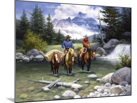 Clear Water Crossing-Jack Sorenson-Mounted Art Print