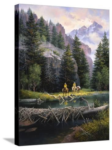 Cure of the Rockies-Jack Sorenson-Stretched Canvas Print