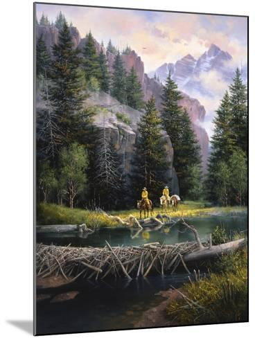 Cure of the Rockies-Jack Sorenson-Mounted Art Print