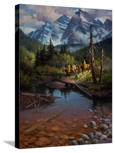 Ridin' the High Country-Jack Sorenson-Stretched Canvas Print