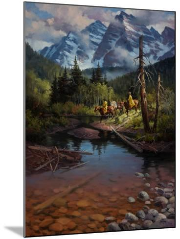 Ridin' the High Country-Jack Sorenson-Mounted Art Print