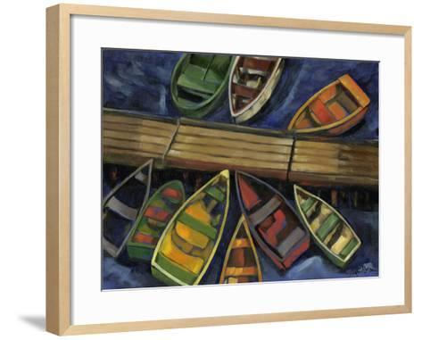 Maine Escape IV-Jennifer Goldberger-Framed Art Print