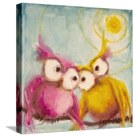 Hoo Loves You-Marabeth Quin-Stretched Canvas Print