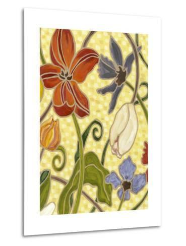 Mini Sunny Garden I (2-Up)-Karen Deans-Metal Print