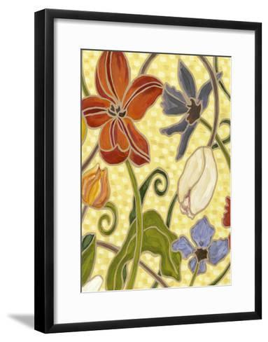 Mini Sunny Garden I (2-Up)-Karen Deans-Framed Art Print