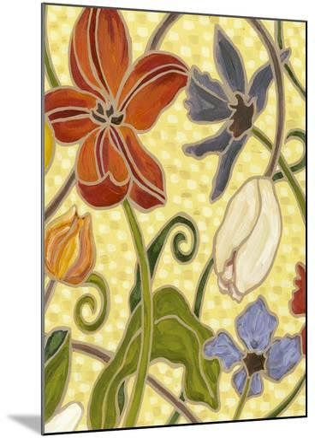 Mini Sunny Garden I (2-Up)-Karen Deans-Mounted Art Print