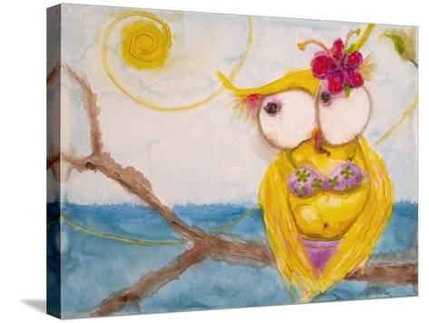 Ms. Hoo in Paradise-Marabeth Quin-Stretched Canvas Print