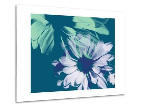 Teal Bloom I-A. Project-Metal Print