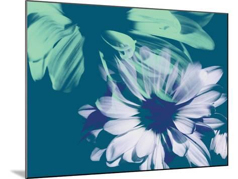 Teal Bloom I-A. Project-Mounted Art Print