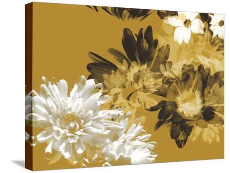 Golden Bloom I-A. Project-Stretched Canvas Print