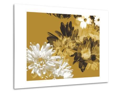 Golden Bloom I-A. Project-Metal Print