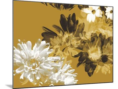 Golden Bloom I-A. Project-Mounted Art Print