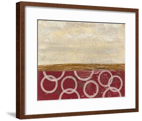 Going in Circles I-Natalie Avondet-Framed Art Print