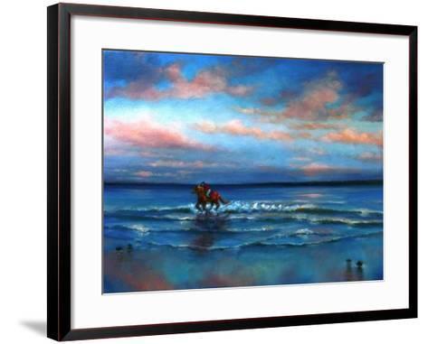 Wave Racing 2013-Lee Campbell-Framed Art Print