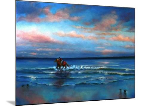 Wave Racing 2013-Lee Campbell-Mounted Giclee Print