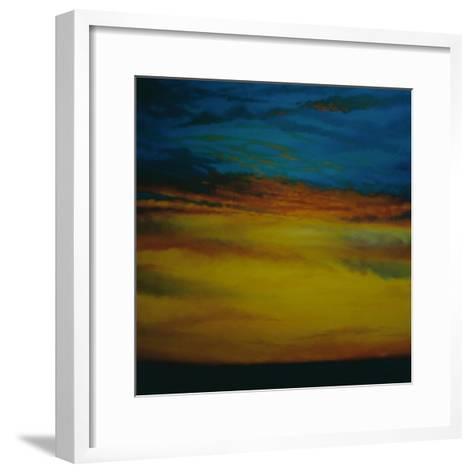 Golden Sky, 2003 Sunset-Lee Campbell-Framed Art Print