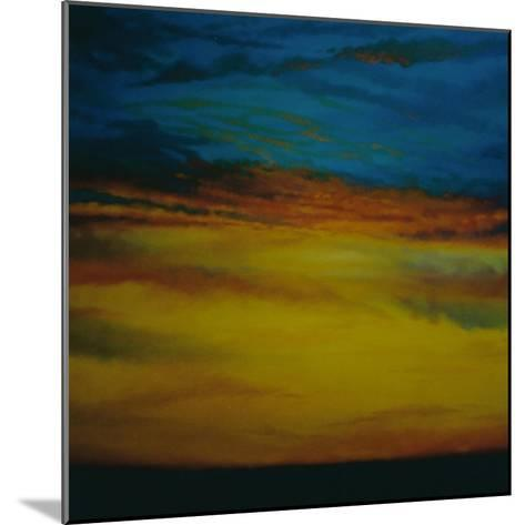 Golden Sky, 2003 Sunset-Lee Campbell-Mounted Giclee Print