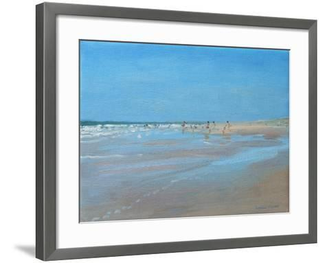 Blue Reflection, Montalivet-Andrew Macara-Framed Art Print