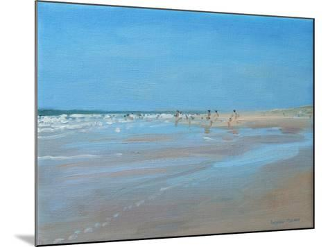 Blue Reflection, Montalivet-Andrew Macara-Mounted Giclee Print