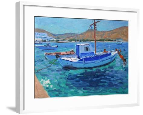 Fishing Boats-Andrew Macara-Framed Art Print