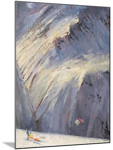 Depths - Val D'Isere-Bob Brown-Mounted Giclee Print
