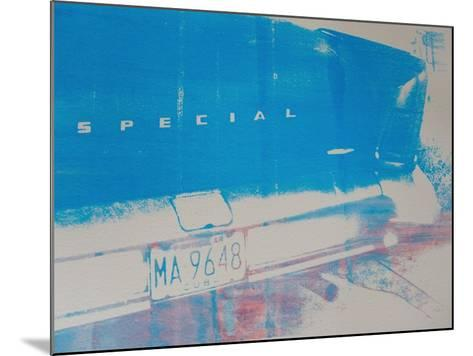 Blue Car-David Studwell-Mounted Giclee Print