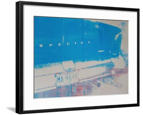 Blue Car-David Studwell-Framed Art Print