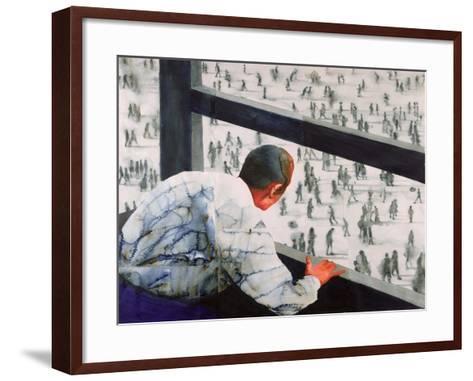 Foreign Correspondent, 1987-Graham Dean-Framed Art Print