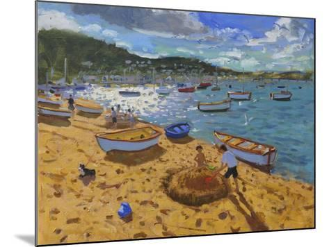 Large Sandcastle,Teignmouth, 2013-Andrew Macara-Mounted Giclee Print
