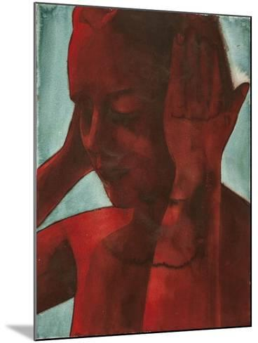 Red One Second Noise-Graham Dean-Mounted Giclee Print