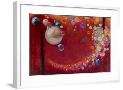 Pearls and Bubbles, 2009-Lee Campbell-Framed Art Print