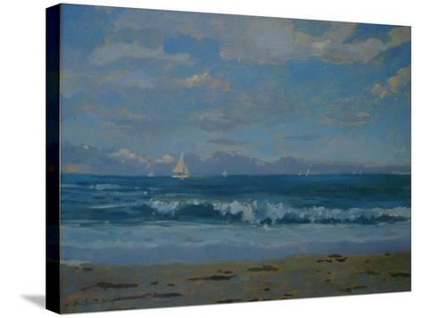Thurlestone Beach-Jennifer Wright-Stretched Canvas Print