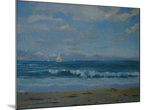 Thurlestone Beach-Jennifer Wright-Mounted Giclee Print