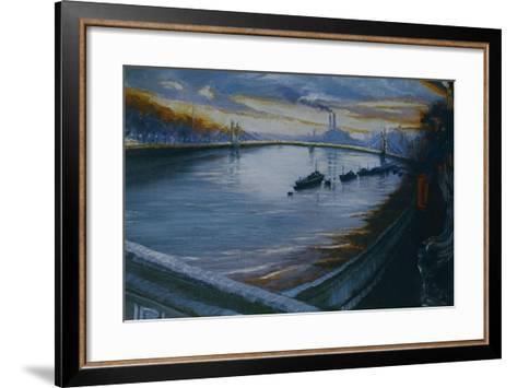 Albert Bridge, Chelsea 2000-Lee Campbell-Framed Art Print