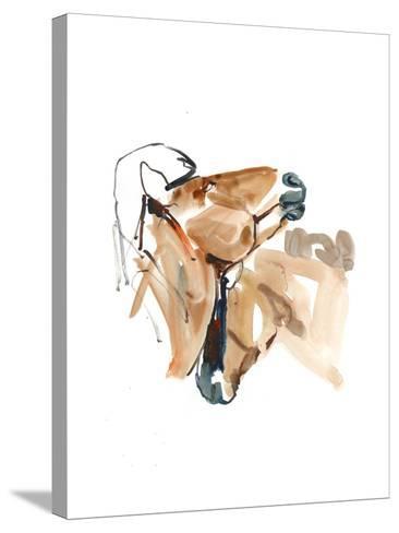 Nuzzle (Przewalski), 2013-Mark Adlington-Stretched Canvas Print