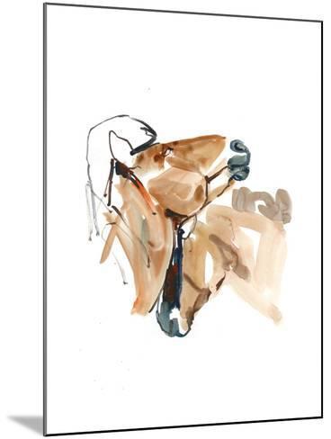 Nuzzle (Przewalski), 2013-Mark Adlington-Mounted Giclee Print