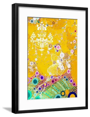 Classy Bird, 2014-AlyZen Moonshadow-Framed Art Print