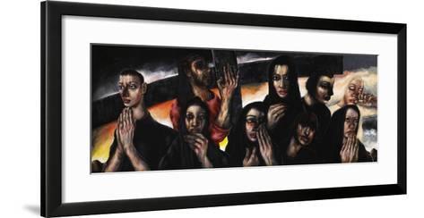 Women of Jerusalem, 2013-Chris Gollon-Framed Art Print