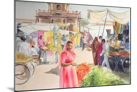 Indian Market, Jodhpur, 1991-Penelope Anstice-Mounted Giclee Print