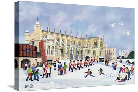 St. George's Chapel, Windsor-Judy Joel-Stretched Canvas Print
