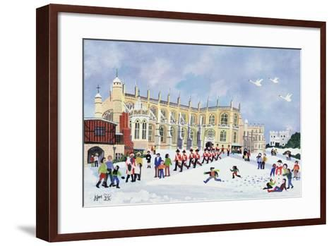 St. George's Chapel, Windsor-Judy Joel-Framed Art Print