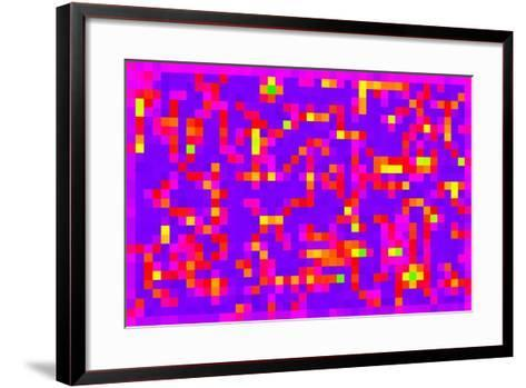 Square Fixation, 2013-Peter McClure-Framed Art Print