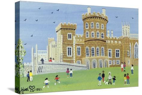 Belvoir Castle, 1992-Judy Joel-Stretched Canvas Print