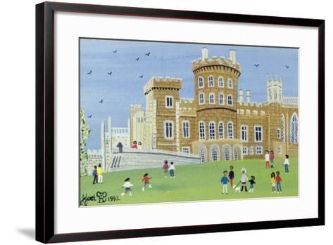 Belvoir Castle, 1992-Judy Joel-Framed Art Print