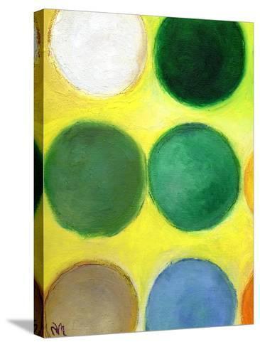 The Happy Dots 2, 2014-Nancy Moniz-Stretched Canvas Print